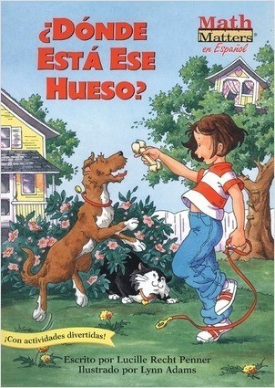 Cover: ¿Dónde está ese hueso? (Where's That Bone?): Position Words/Mapping