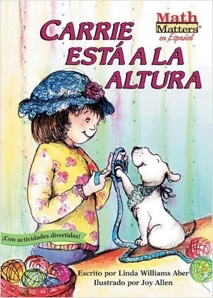 Cover: Carrie está a la altura (Carrie Measures Up): Measurement: Length