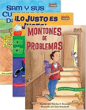 Cover: Math Matters Spanish/English Set — Paperback Set