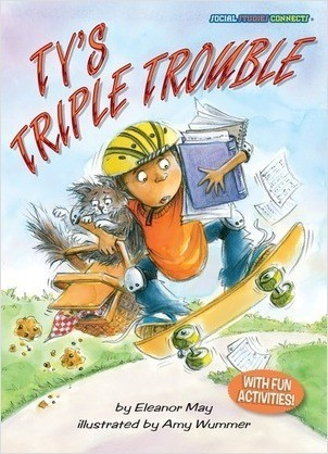 Cover: Ty's Triple Trouble: Volunteering