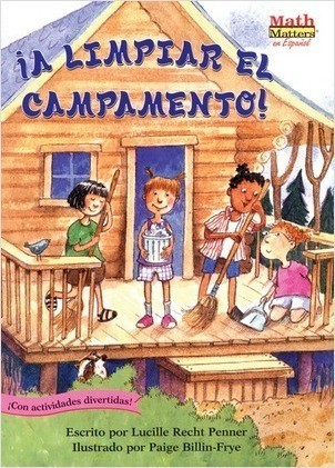 Cover: ¡A limpiar el campamento! (Clean-Sweep Campers): Fractions