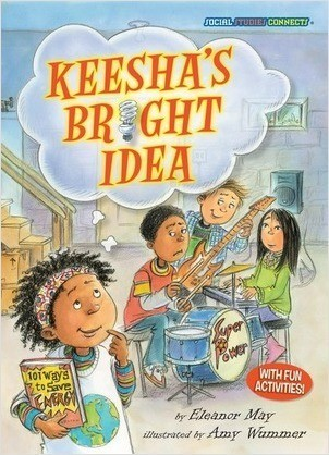 Cover: Keesha's Bright Idea: Saving Energy