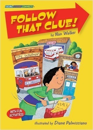 Cover: Follow That Clue!: Community Helpers