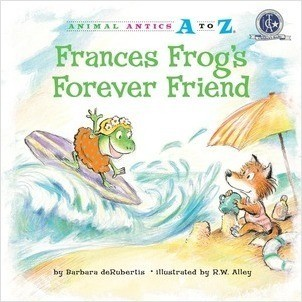 Cover: Frances Frog's Forever Friend