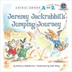 Cover: Jeremy Jackrabbit's Jumping Journey
