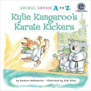 Cover: Kylie Kangaroo's Karate Kickers
