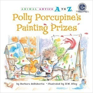 Cover: Polly Porcupine's Painting Prizes