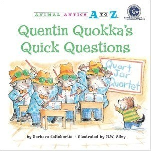 Cover: Quentin Quokka's Quick Questions