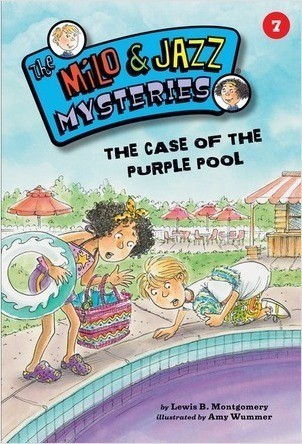 Cover: The Case of the Purple Pool (Book 7)