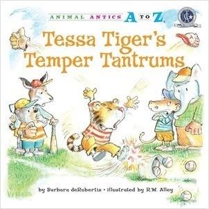 Cover: Tessa Tiger's Temper Tantrums