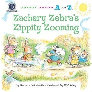 Cover: Zachary Zebra's Zippity Zooming