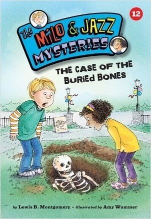 Cover: The Case of the Buried Bones (Book 12)