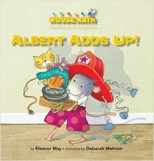 Cover: Albert Adds Up!: Adding/Taking Away