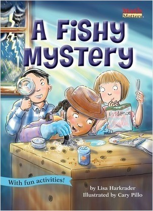 Cover: A Fishy Mystery: Venn Diagrams