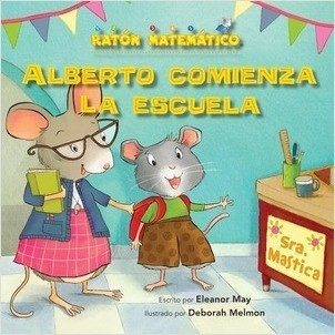Cover: Alberto comienza la escuela (Albert Starts School): Días de la semana (Days of the Week)