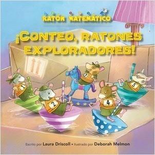 Cover: ¡Conteo, ratones exploradores! (Count Off, Squeak Scouts!): Orden de los números (Number Sequence)