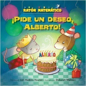 Cover: ¡Pide un deseo, Alberto! (Make a Wish, Albert!): Sólidos (3-D Shapes)