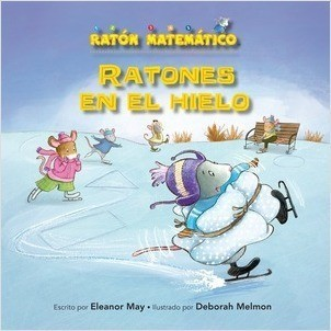 Cover: Ratones en el hielo (Mice on Ice): Figuras planas (2-D Shapes)