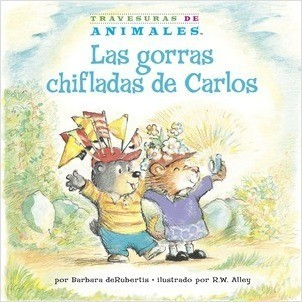 Cover: Las gorras chifladas de Carlos (Corky Cub's Crazy Caps)