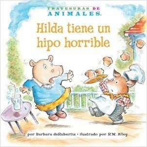 Cover: Hilda tiene un hipo horrible (Hanna Hippo's Horrible Hiccups)