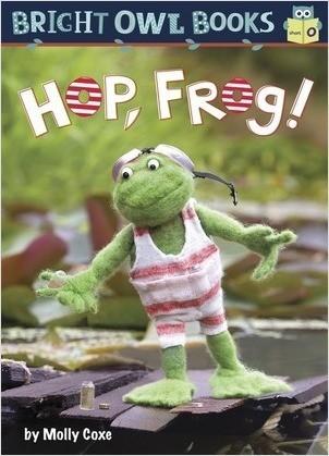 Cover: Hop Frog: Short vowel o
