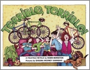 Cover: Terrible, Terrible!: A Folktale Retold