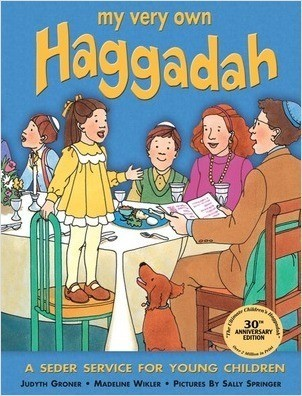 Cover: My Very Own Haggadah: A Seder Service for Young Children