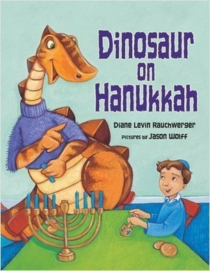 Cover: Dinosaur on Hanukkah