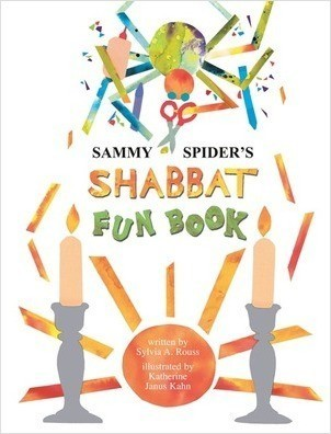 Cover: Sammy Spider's Shabbat Fun Book