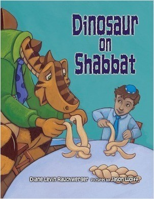 Cover: Dinosaur on Shabbat