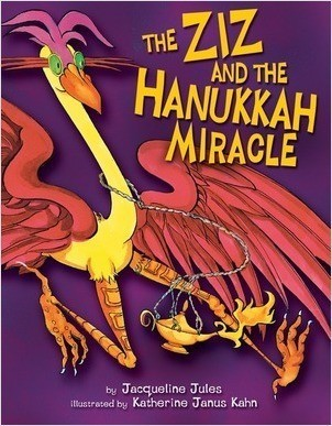 Cover: The Ziz and the Hanukkah Miracle
