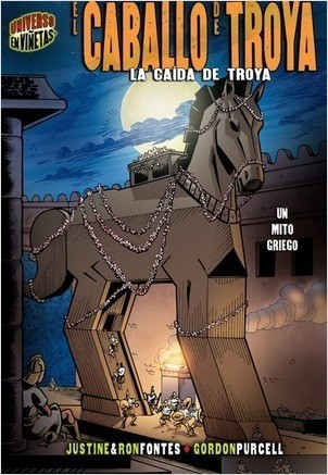Cover: El caballo de Troya (The Trojan Horse): La caída de Troya [Un mito griego] (The Fall of Troy [A Greek Myth])