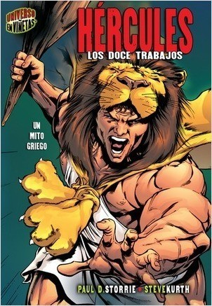 Cover: Hércules (Hercules): Los doce trabajos [Un mito griego] (The Twelve Labors [A Greek Myth])