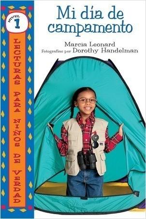 Cover: Mi día de campamento (My Camp-Out)