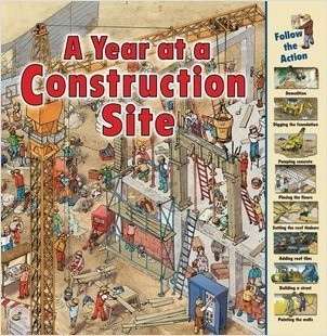 Cover: A Year at a Construction Site