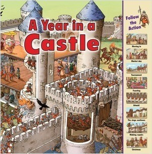 Cover: A Year in a Castle