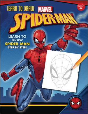 Cover: Learn to Draw Marvel Spider-Man: Learn to draw Spider-Man step by step!