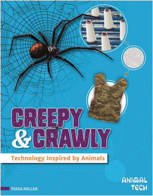 Cover: Creepy & Crawly: Technology Inspired by Animals
