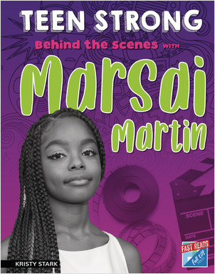 Cover: Behind the Scenes with Marsai Martin