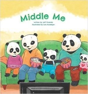 Cover: Middle Me: A Growing-Up Story of the Middle Child