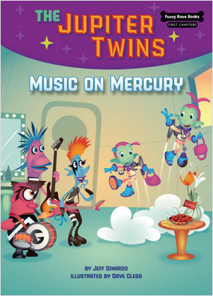 Cover: Music on Mercury (Book 7)