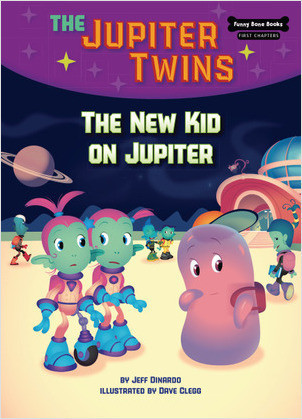 Cover: The New Kid on Jupiter (Book 8)