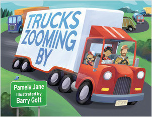 Cover: Trucks Zooming By