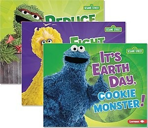 Cover: Go Green with Sesame Street ® — Library Bound Set