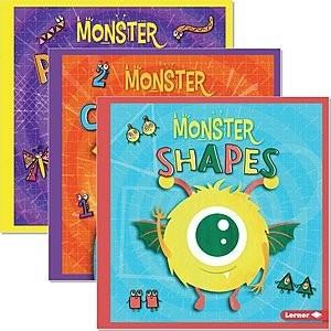Cover: Monster Math — Hardcover Set