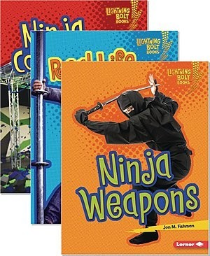 Cover: Lightning Bolt Books ® — Ninja Mania — eBook Set