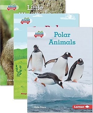 Cover: Let's Look at Animal Habitats (Pull Ahead Readers — Paired Fiction and Nonfiction) — Hardcover Set