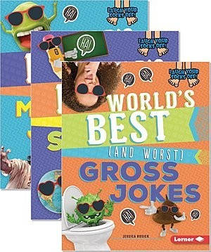 Cover: Laugh Your Socks Off! — Paperback Set