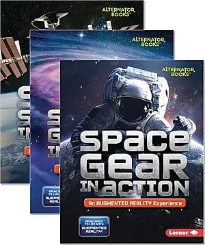 Cover: Space in Action: Augmented Reality (Alternator Books ® ) — Paperback Set