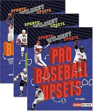 Cover: Sports' Wildest Upsets (Lerner ™ Sports) — Paperback Set
